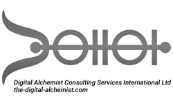 Stylised Digital Alchemist Consulting International logo