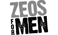 Stylised Zeos for Men logo