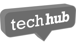 Stylised Techhub logo